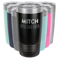 Best Dad Ever Personalized Tumbler Father's Day Gift