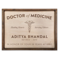 Personalized Medical Doctor Sign