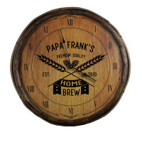 The Home Brewery Quarter Barrel Clock