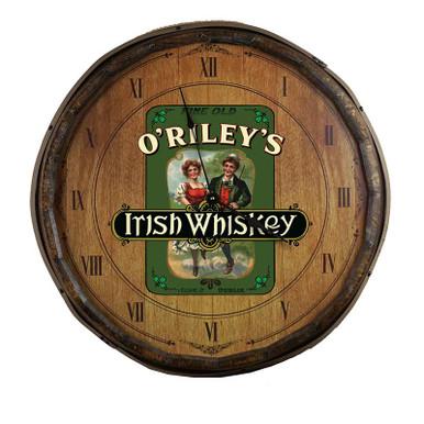 The Irish Whiskey Quarter Barrel Clock
