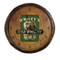 The Irish Whiskey Quarter Barrel Clock