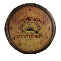 The Scotch Whisky Quarter Barrel Clock