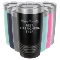 Personalized Firefighter Tumbler