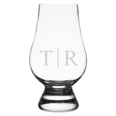 Personalized Laser Engraved Whiskey Bourbon Glass