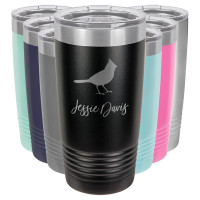 Personalized Cardinal Gift Tumbler