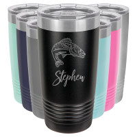 Personalized Fishing Tumbler Mug