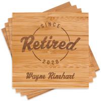 Retirement Coaster Set