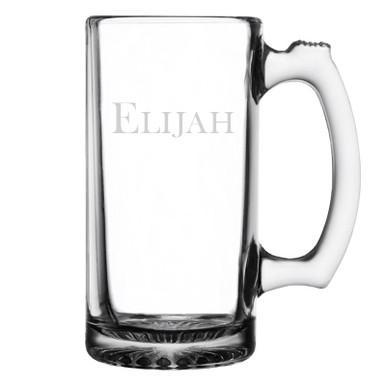 Personalized Beer Mug - Baskerville