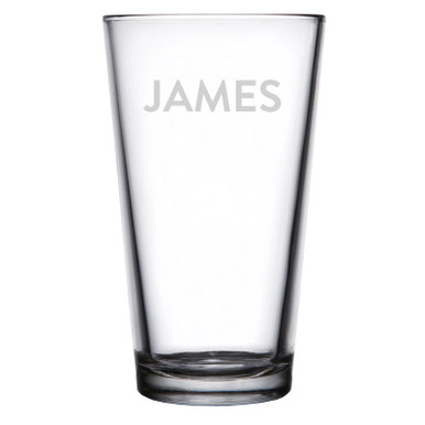 Personalized Pint Glass - Brandon