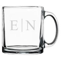 Personalized Coffee Mug Classy Monogram