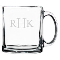 Personalized Coffee Mug Traditional Monogram