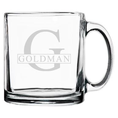 Personalized Coffee Mug Initial & Name