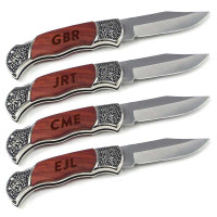 Engraved Pocket Knife Groomsmen Gift Pack