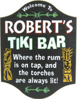 Tiki Bar Pub Sign | Home Bar Signs | Custom Wall Decor