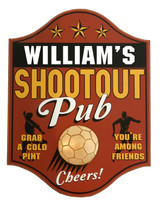 Soccer Pub Sign Personalized