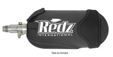 Redz Comfort Gear Neoprene Black Air Tank Bottle Cover