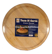 19 inch wooden lazy susan turntable from Grande Epicure
