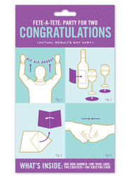 Congratulations: Party for Two