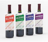 Mood Enhancer Wine Bottle Gift Tags
