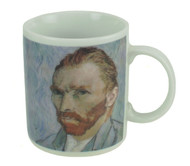The Disappearing Van Gogh Mug image when Cold