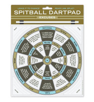 Excuses Spitball Dartpad