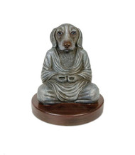 Dog Buddha Sculpture