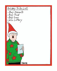Holiday To-Do List by Murray's Law. Item# 412-08867