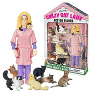 Crazy Lady Action Figure