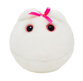 Egg Cell Plush Toy