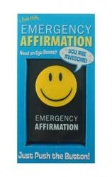 Emergency Affirmation
