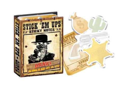 Stick 'Em Ups- Sticky Notes Pads