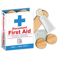 First Aid Sticky Notes