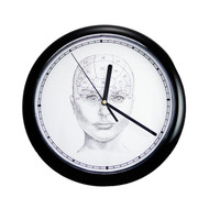 Adult Phrenology Clock