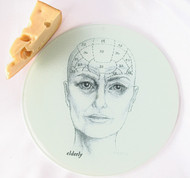 Phrenology Head Cutting Board - Elder