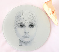 Phrenology Head Cutting Board/Serving Tray - Adult