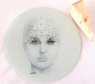Phrenology Head Cutting Board/Serving Tray - Adult