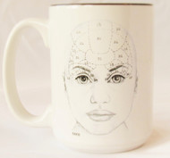 Teen Phrenology Head Mug