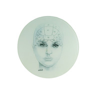 Adult Phrenology Cheese Plate