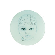 Baby Phrenology Cheese Plate