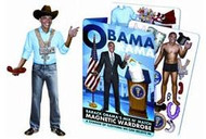 Obama Magnet Dress Up