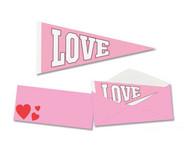 mini love pennant