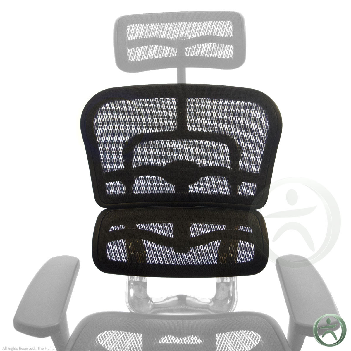 Raynor Ergohuman Chair Replacement Mesh Back For Me7erg