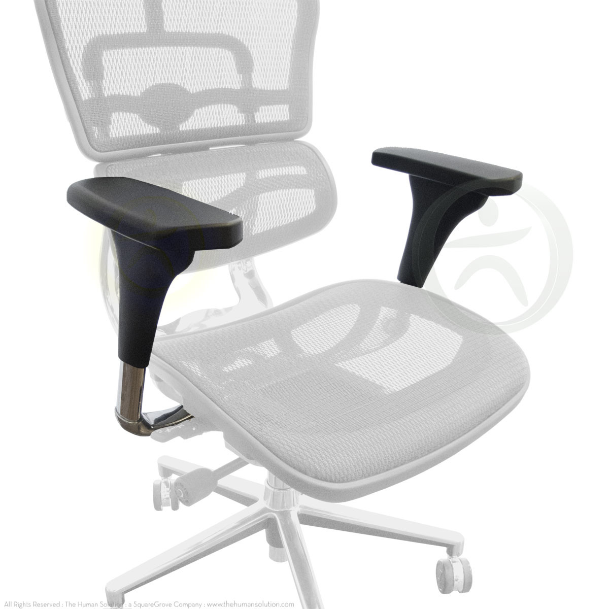 Strange Raynor Ergohuman Chair V1 Replacement Arms Ibusinesslaw Wood Chair Design Ideas Ibusinesslaworg