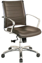Eurotech Europa Executive Vinyl Mid-Back Chair VE222