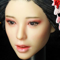SUPER DUCK JAPANESE GEISHA HEAD & KIMONO 1/6 SCALE ACCESSORY SET SET052