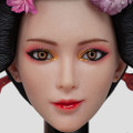I8 TOYS OIRAN COURTESAN QUEEN -  ICHIYA 1/6 SCALE HEAD AND CLOTHING ACCESSORIES SET I8-C002
