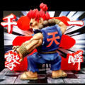 BIGBOYSTOYS STREET FIGHTER T.N.C. (THE NEW CHALLENGER) SERIES - AKUMA PVC FIGURE STATUE WITH LED