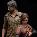 "MAMEGYORAI ""THE LAST OF US"" JOEL AND ELLIE 1/9 SCALE STATUE"