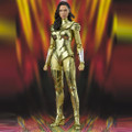 "BANDAI SPIRITS S.H.FIGUARTS ""WONDER WOMAN 1984"" WONDER WOMAN GOLDEN ARMOR ACTION FIGURE"