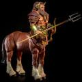 "FOUR HORSEMEN STUDIOS - MYTHIC LEGIONS: ILLYTHIA - APHAREUS (CENTAUR) 6"" SCALE ACTION FIGURE"